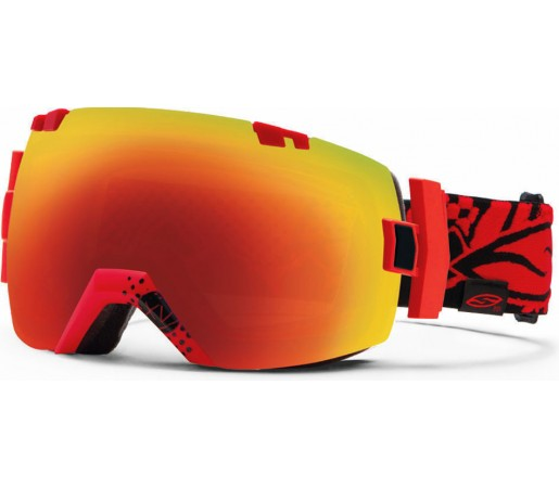 Ochelari Schi si Snowboard Smith I/OX Xavier Charger/ Red sol- x