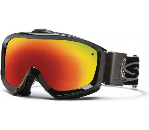 Ochelari Ski si Snowboard Smith Prophecy Turbo Fan Black/ Red Sol-X