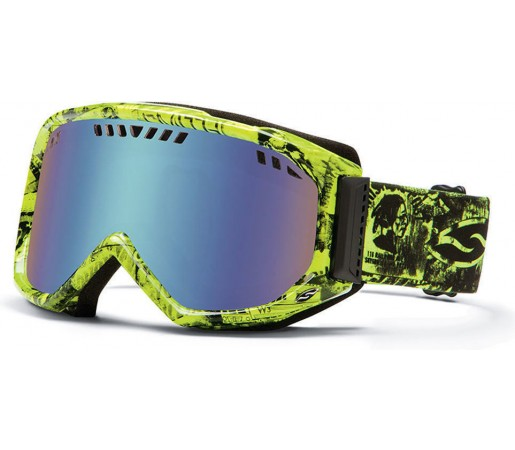 Ochelari Ski si Snowboard Smith SCOPE ACID W3 Blue