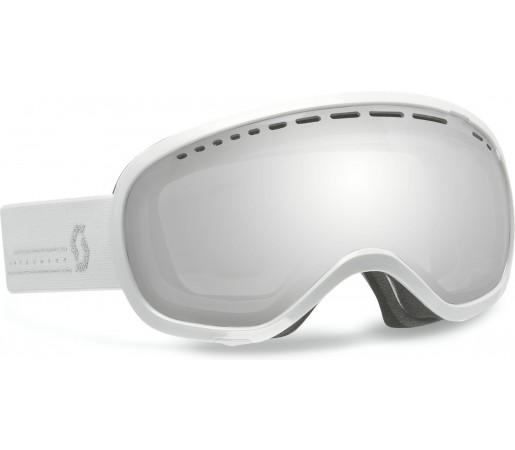 Ochelari Schi si Snowboard Scott Off-Grid Alb/Silver Chrome