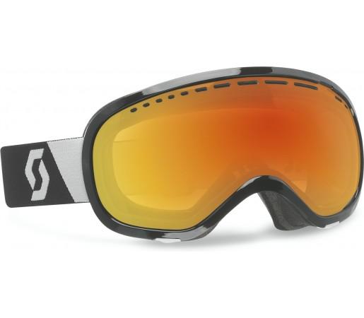 Ochelari Schi si Snowboard Scott Off-Grid Negru/Rosu Chrome