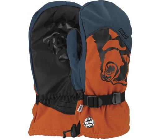 Manusi Schi si Snowboard POW Bear Claw Orange