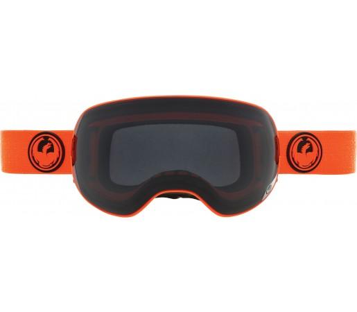 Ochelari Schi si Snowboard Dragon X2 Portocaliu / Dark Smoke + Yellow Blue