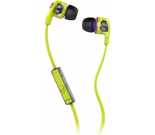 Casti audio Skullcandy Smokin Buds 2 Hot Lime/Purple