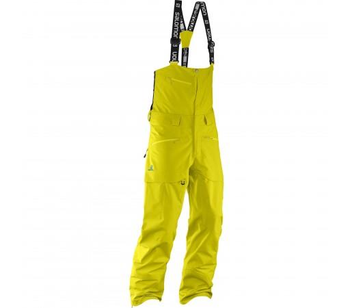 Pantaloni schi si snowboard Salomon M Qst Charge GTX 3L Galbeni