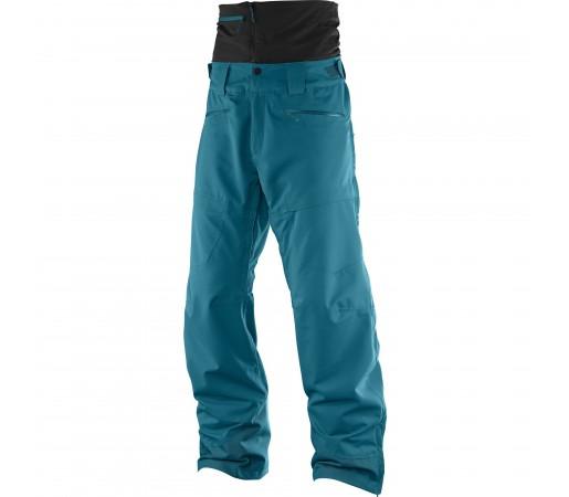 Pantaloni schi si snowboard Salomon M Qst Guard Albastri