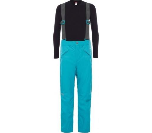Pantaloni Schi si Snowboard The North Face G Snowquest Suspender Verzi