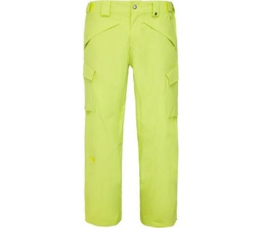 Pantaloni de Ski si Snowboard The North Face M Slasher Cargo Yellow Green