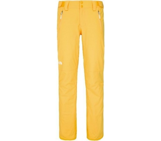 Pantaloni de Ski si Snowboard The North Face W Dewline Yellow