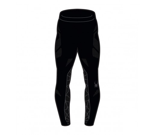 Pantaloni First Layer Spyder Captain (Boxed) Negru/Gri