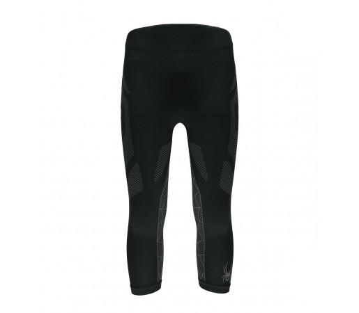 Pantaloni First Layer Spyder Captain (Boxed) 3/4 Negru/Gri