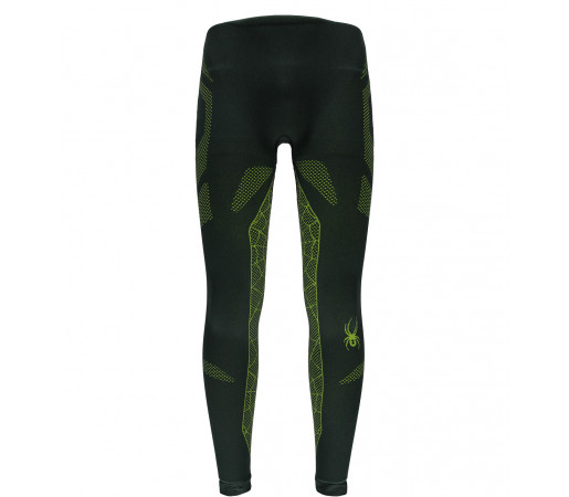 Pantaloni First Layer Spyder Captain (Boxed) Negru/Verde