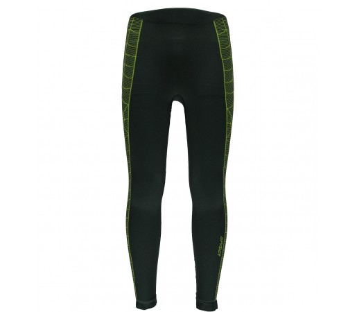 Pantaloni First Layer Spyder Skeleton (Boxed) Negru/Verde