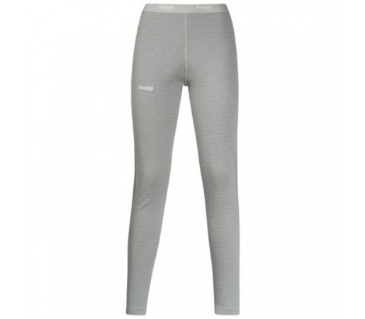 Pantaloni first layer Snoull Bergans Of Norway Lady- 100% Merino Wool Gri