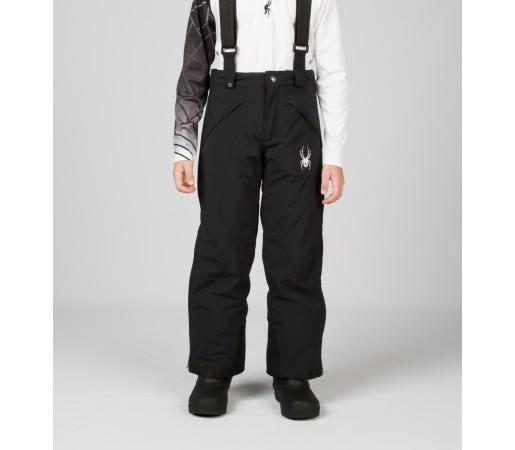 Pantaloni Schi si Snowboard Spyder Boys Force Negri