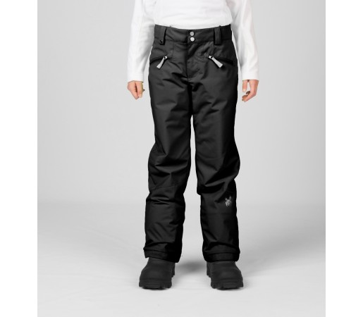 Pantaloni Schi si Snowboard Spyder Girls Vixen Tailored Negri