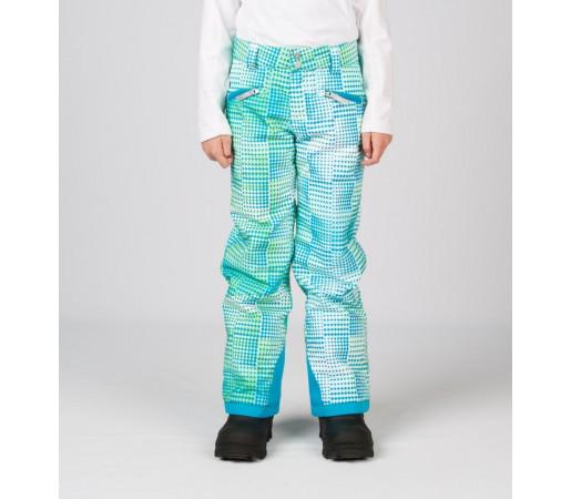 Pantaloni Schi si Snowboard Spyder Girls Vixen Tailored Albastru Diamond Print