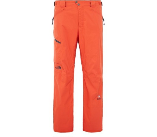 Pantaloni Schi si Snowboard The North Face M Sickline Portocalii