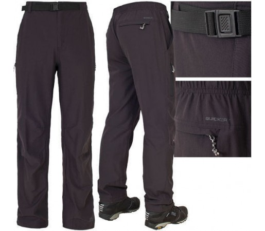 Pantaloni Trekking Trespass Federation Black