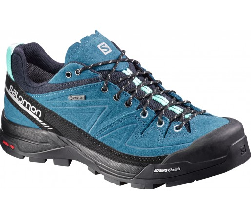 Incaltaminte Hiking Salomon X Alp Ltr Gore-Tex Albastru/Negru