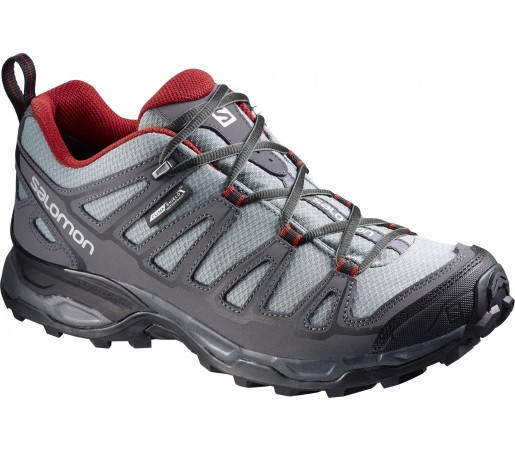Incaltaminte Hiking Salomon X Ultra Prime Climashield Negru/Gri