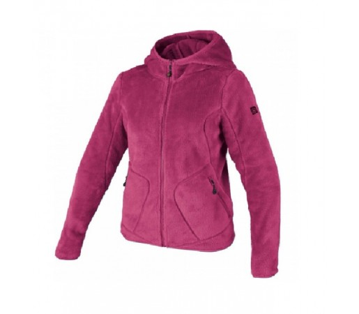 Polar Brekka Peluche Hooded Woman Roz
