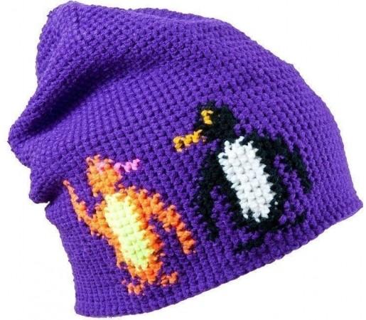 Caciula Kask Pingvin (Crochet Handmade) Purple 2013
