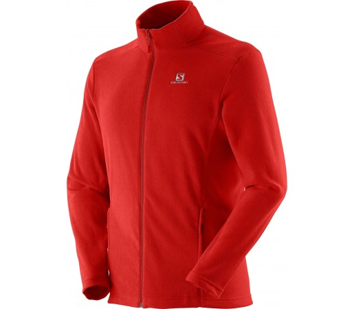Polar Salomon Panorama FZ Midlayer M Red