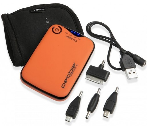 Baterie portabila Veho Pebble Verto 3700 mAh Orange
