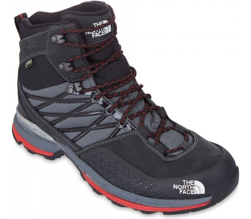 Incaltaminte The North Face M Verbera Lite Mid GTX Gri/Rosu