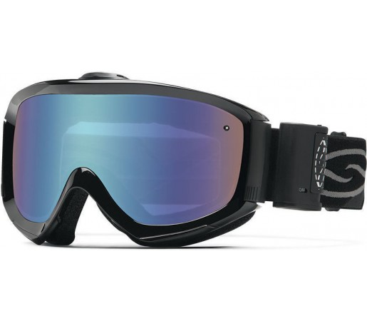 Ochelari Schi si Snowboard Smith Prophecy Turbo Fan Black / Blue Sensor mirror