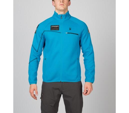Bluza Spyder Alps Full Zip Albastru/Negru