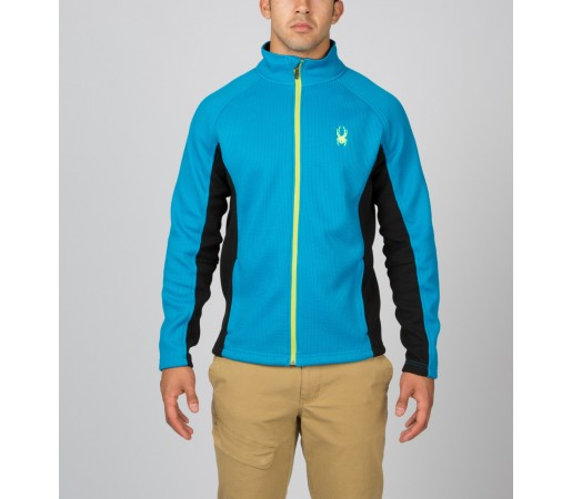 Bluza Spyder Constant Tailored Albastru/Negru/Verde
