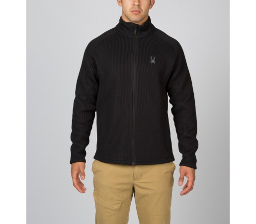 Bluza Spyder Foremost Full Zip Neagra