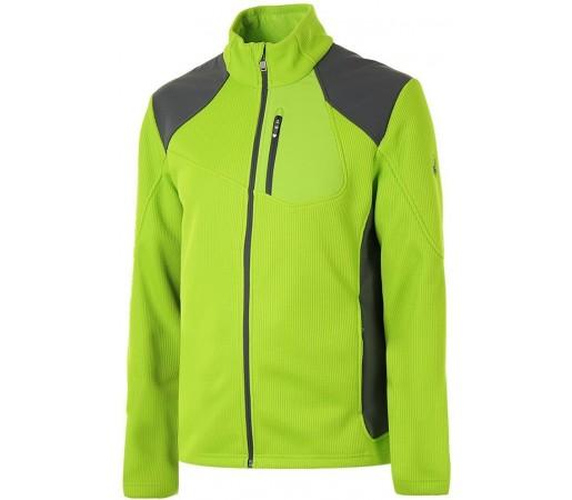 Bluza Spyder Linear Full Zip Verde