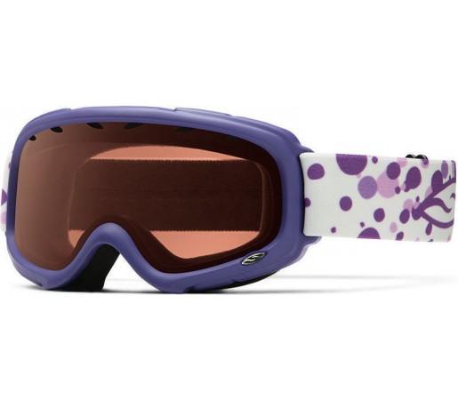 Ochelari Schi si Snowboard Smith Gambler Air Purple Fridays /RC36 Rose Copper