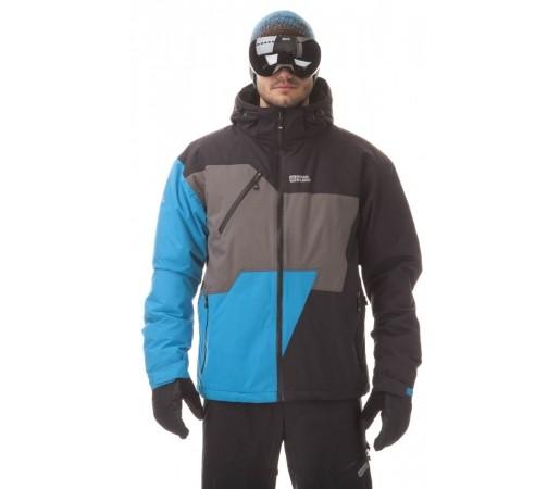Geaca Schi si Snowboard Nordblanc RADIANT Negru Albastrui