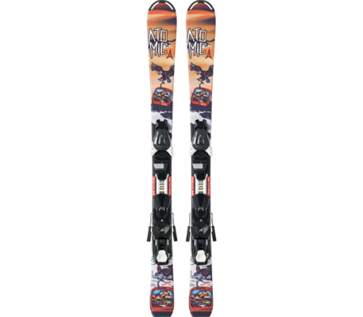 Schiuri Atomic Rascal JR II & EZY 5 Black/Orange