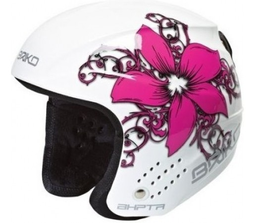 Casca Schi si Snowboard Briko Rookie Flower White