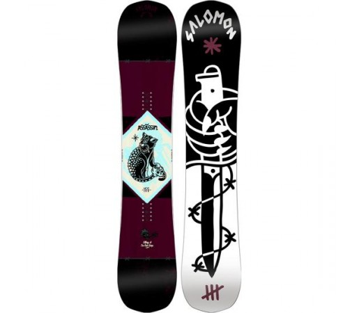 Placa snowboard Salomon Assassin Neagra 2016