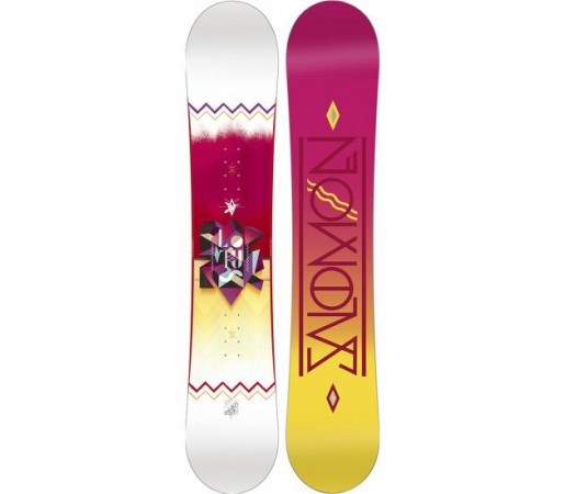 Placa snowboard Salomon Lotus Roz 2016