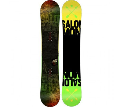 Placa snowboard Salomon Pulse Verde