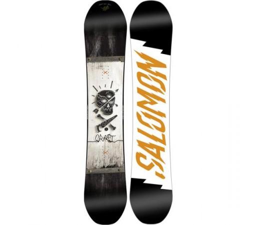Placa snowboard Salomon Craft Neagra