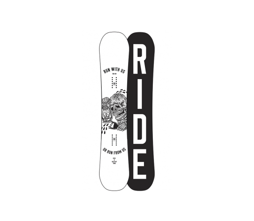 Placa Snowboard Ride Burnout Wide 2017