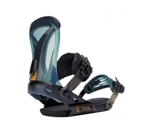 Legaturi snowboard Ride DVA Albastre