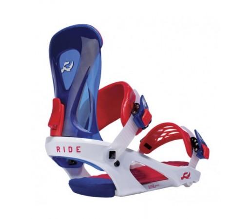 Legaturi snowboard Ride KX Albastru/ Rosu