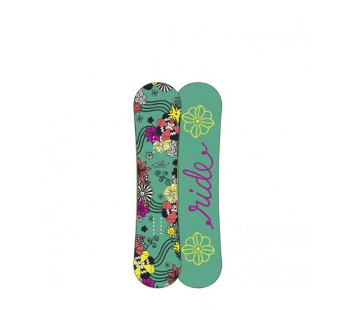 Placa snowboard Ride Blush Verde 2016
