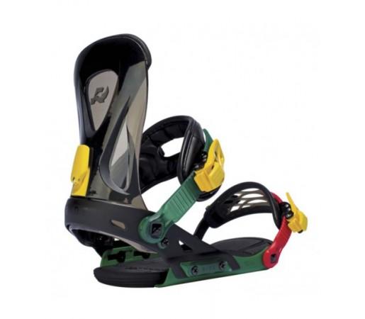 Legaturi snowboard Ride Revolt Negru/ Verde