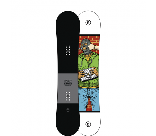 Placa Snowboard Ride Crook 2017