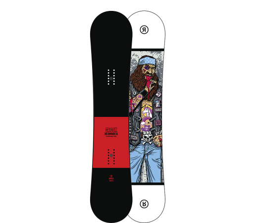 Placa Snowboard Ride Crook Wide 2017